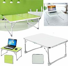 Portable Laptop Table Bed Desk Foldable Bed Tray
