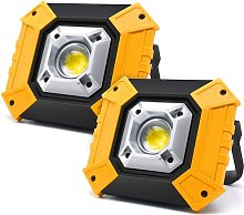 Portable LED Work Light, 30W 1500LM Rechargeable