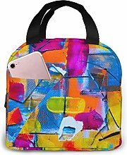 Portable Lunch Bag Insulated Cooler Bag for