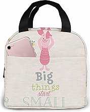 Portable Lunch Bag Piglet Things Reusable