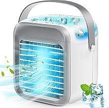 Portable Mini Air Conditioner, 3 Speed, 7 Colors,