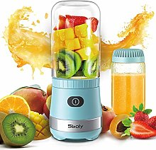 Portable Mini Blender USB Rechargeable with 2