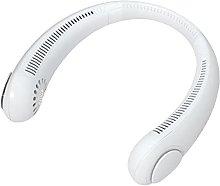 Portable Neckband Fan Mini USB Rechargeable Fan