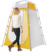 Portable Outdoor Shower Tent UV-protection Bath