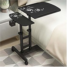 Portable Overbed Chair Portable Laptop Desk Cart