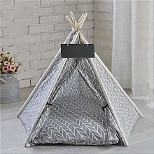 Portable Pet Tent Washable Teepee Puppy Cat Indoor