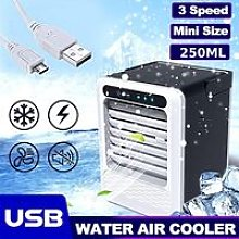 Portable Power Save Usb Mini Air Conditioning Fan