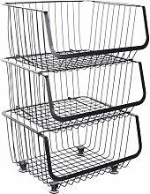 Portable Rolling Storage Bin Basket Cart Mobile