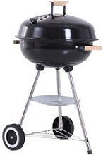 Portable Round Charcoal Grill BBQ Outdoor Patio