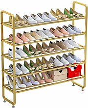 Portable Shoe Rack 5-Tier Entryway Shoe Rack Home