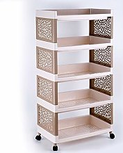 Portable Shoe Storage and Organizing Tower, Khaki,