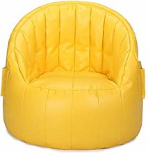 Portable Sofa Sofa Chair PU Leather Material Lazy