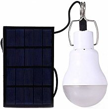 Portable Solar Power LED Light Bulb, Outdoor