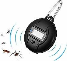 Portable Solar Ultrasonic Mosquito Repellent