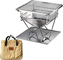 Portable Stainless Steel BBQ Grill Folding BBQ