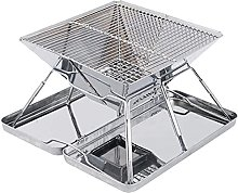 Portable Stainless Steel Folding BBQ Grill