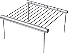 Portable Stainless Steel Folding BBQ Grill Mini