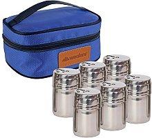 Portable Stainless Steel Spice Shaker Seasoning