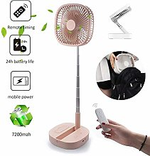 Portable Stretchable Personal Fan, USB Remote