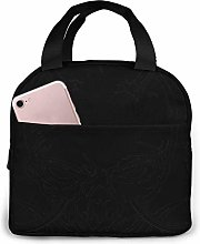 Portable Thermal Insulated Lunch Bag with Zip