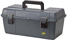 Portable Tool Box, 20-1/4 In. W, Gray