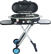 Portable Trolley BBQ Grill, Outdoor Camping