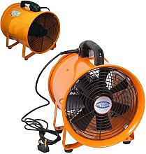 Portable Ventilator Industrial Air Axial Metal