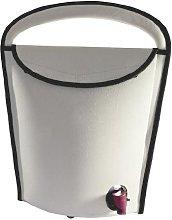 Portable Wine Cooler for Wineskin 3 L Grey 130 x