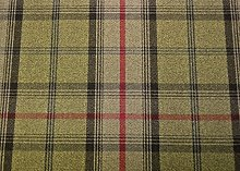Porter and Stone Balmoral Wool Effect Thick Tartan