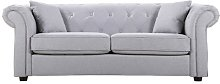 Porterdale 3 Seater Chesterfield Sofa Rosalind