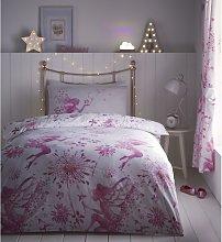 Portfolio Fairy Princess Pink Single Duvet Cover