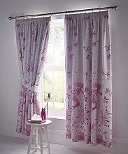 Portfolio Fully Lined Curtain Pair, Polyester 50%