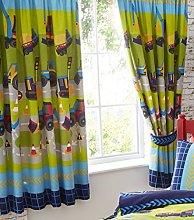 Portfolio Fully Lined Curtain Pair Ready Made,