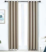Portfolio Fully Lined Pencil Pleat Curtain Pair,