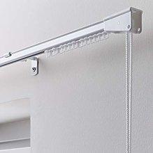 Portfolio Home Corded Aluminium Curtain Track Set