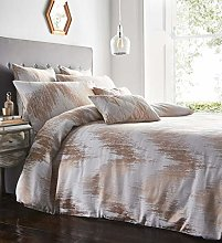 Portfolio Quartz Quilt Duvet Cover Bed Set, Rose