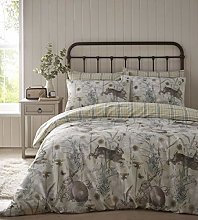 Portfolio Rabbit Meadow Duvet Cover Set Bedding,