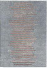Portinfer Rug - 120 x 180 cm / Blue / Wool