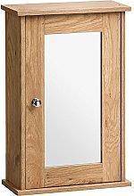 PORTLAND - Wall Mounted Wooden Bathroom Storage