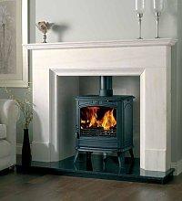 Portman Chatsworth 54 Inch Limestone Fireplace