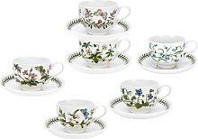 Portmeirion Botanic Garden Tea Cup and Saucer Set