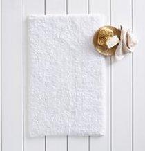 Portobello Bath Mat, White, Medium