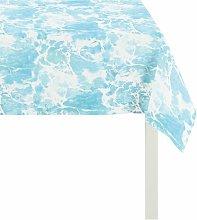 Portofino Table Topper Apelt Colour: Blue