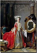 Portrait of Madame Adélaïde Classical Oil