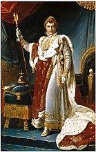 Portrait of Napoleon Classical Oil Paintings Print
