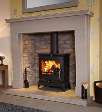 Portway Rochester 7 DEFRA Approved Wood Burning /