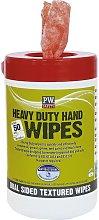 Portwest IW30ORR - sz Heavy Duty Hand Wipes (50