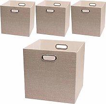 Posprica Storage Boxes, Foldable Organiser Cube