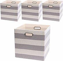 Posprica Storage Boxs,33×33cm Storage Cube Basket