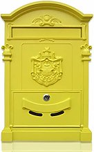 Post Box Mail BoxesRetro Newspaper Box European